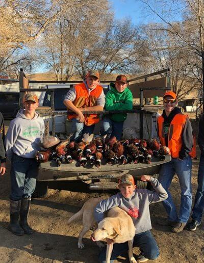 Korkow Ranch pheasant hunt