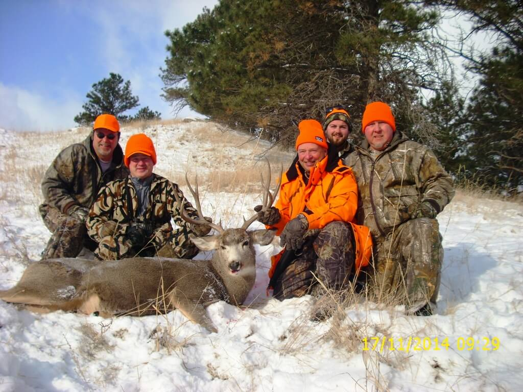 Antelope Creek Ranch Mule Deer Hunt